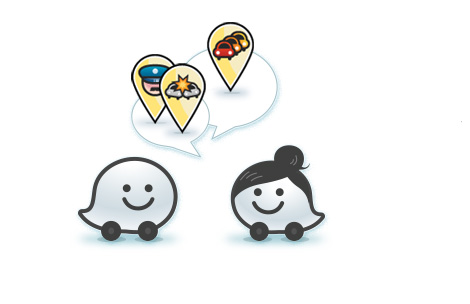 waze partners with facebook