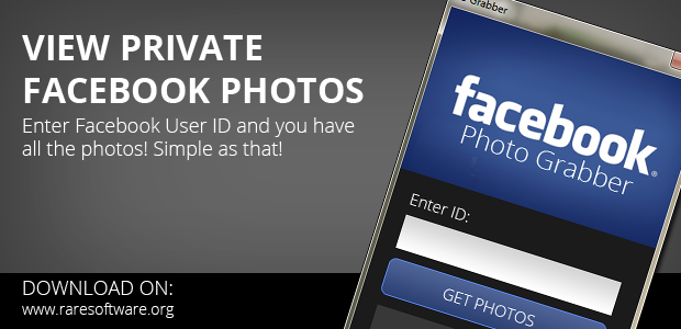 Photograbber helps you collect all those Facebook photos