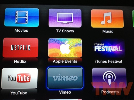 Apple TV will stream live Apple events including todays