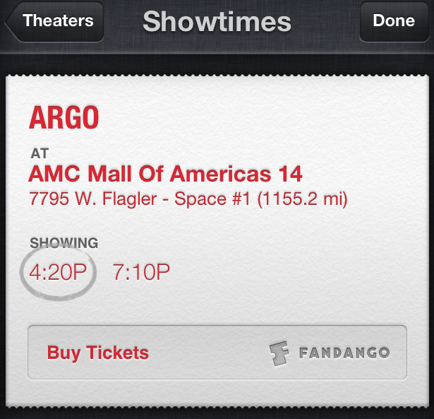 Movie tickets coming to Siri