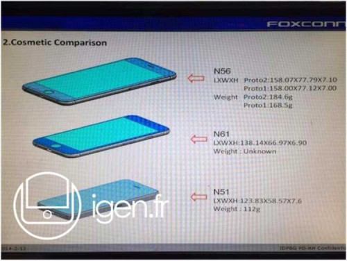 iPhone6 Schematics Possibly leaked