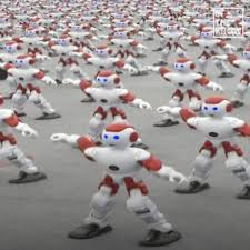 Thousands of Dancing Robots: Cute or Creepy